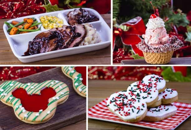 Image result for christmas food disneyland