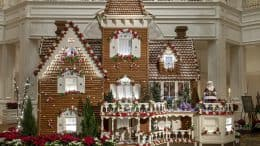 2018 Holiday Gingerbread Display at Disney's Grand Floridian Resort & Spa
