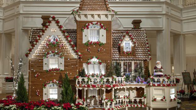 2018 Holiday Gingerbread Display at Disney's Grand Floridian Resort & Spa