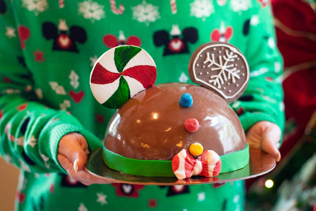 Gingerbread Dome Cake at Amorette's Patisserie at Disney Springs