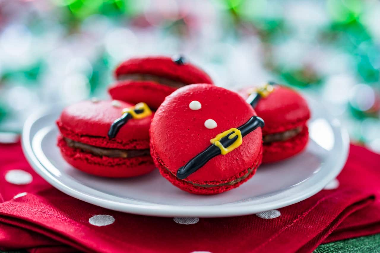 Santa Belt Macarons for Flurry of Fun at Disney's Hollywood Studios