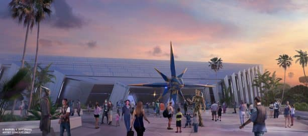 Guardians of the Galaxy Attraction to Feature 'Storytelling Coaster' Ride Vehicle