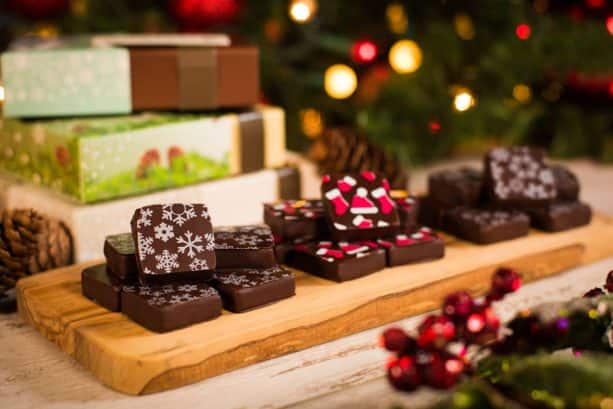 Holiday Ganache Squares from The Ganachery at Disney Springs