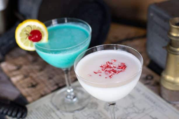 Holiday Cocktails at Jock Lindsey's Hangar Bar at Disney Springs
