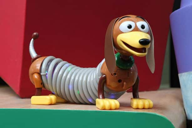 Light Up Slinky Dog