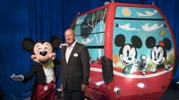 Mickey Mouse, Bob Chapeck and a Skyliner