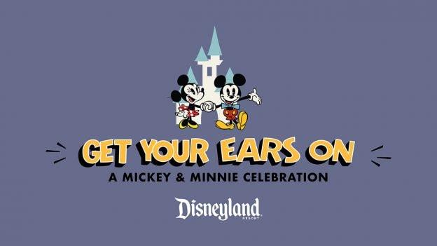 Illustration de la nouvelle saison Get Your Ears On - A Mickey and Minnie Celebration.