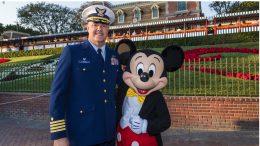 Veteran Andy Grenier Visits Disneyland Resort