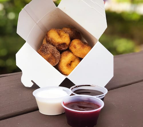 Mini-Donuts at Disney's Typhoon Lagoon Water Park