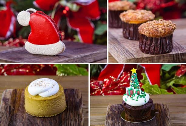 Holiday Treats from Jolly Holiday Bakery Café at Disneyland Park for 2018 Holidays at Disneyland Resort