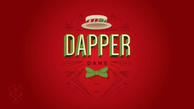 Dapper Dans Holiday Wallpaper