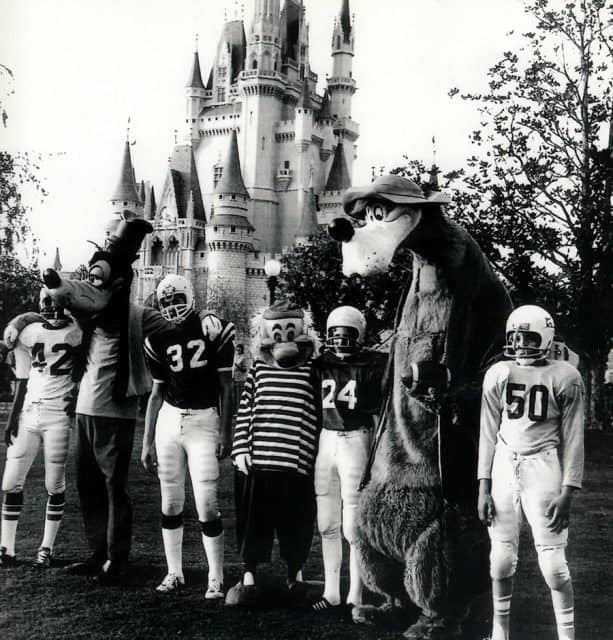 "1960 imate of ""Moochie of Pop Warner Football"" broadcast from ABC as part of Walt Disney Presents"