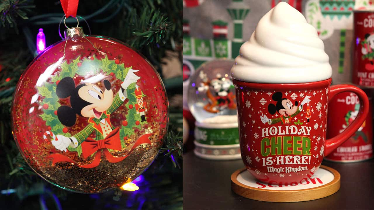 New Must Have Holiday Merchandise from Mickey's Very Merry Christmas Party