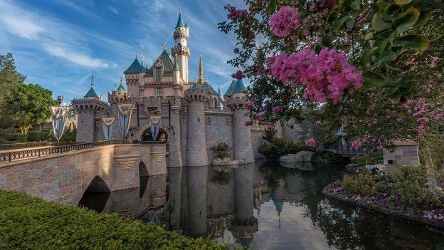 Sleeping Beauty Castle at Disneyland Park