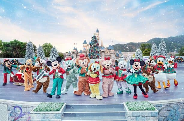 Mickey and Friends Christmastime Ball at Hong Kong Disneyland