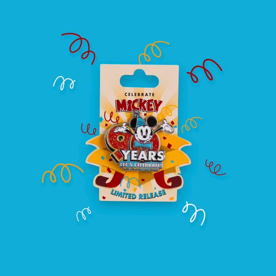 Mickey Mouse 90th Limited-Release Pin