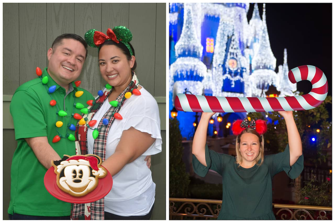 Festive Disney PhotoPass Opportunities During Mickey's Very Merry Christmas Party