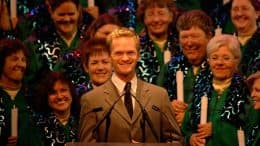 Candlelight Processional at Epcot with celebrity narrator Neil Patrick Harris