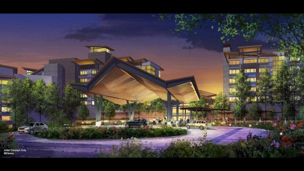 Artist rendering of Reflections – A Disney Lakeside Lodge