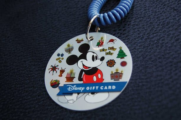 Mickey Holiday Gift Card