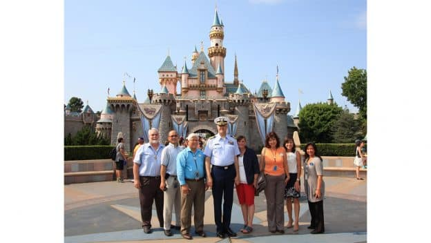 Disneyland Resort Salutes Cast Member and Veteran Andy Grenier