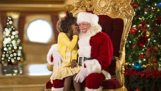 Santa with Guest on a Very Merrytime Cruise