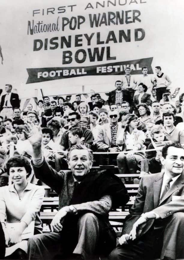 The first National Pop Warner-Disneyland Bowl Football Festival
