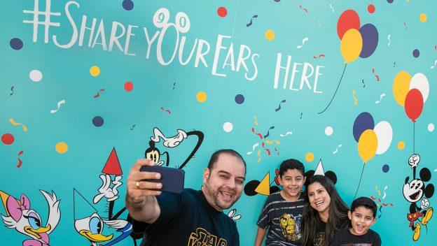 #ShareYourEars Walls at Disney Parks