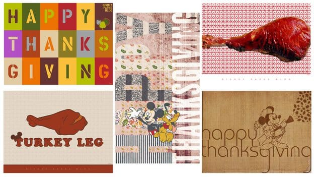 Disney Parks Blog Thanksgiving Wallpapers