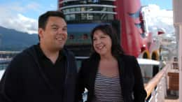 'Frozen' Songwriters Robert Lopez and Kristen Anderson-Lopez on a Disney Cruise to Alaska