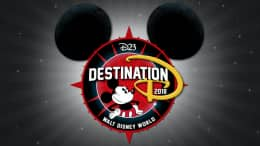 D23's Destination D: Celebrating Mickey Mouse Logo