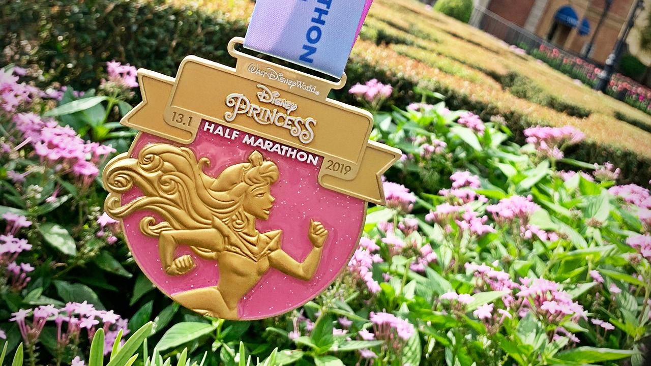 run Disney 2019 Princess Jasmine Fairy Tale Challenge 19.3 Miles Car Magnet NEW