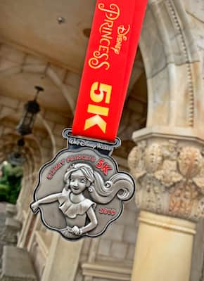 2019 Disney Princess 5K Medal