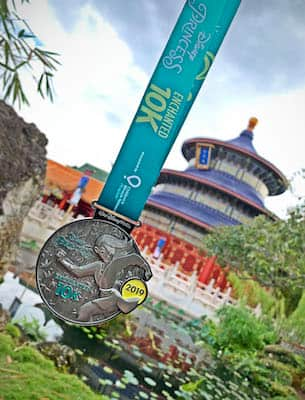 2019 Disney Princess Enchanted 10K Medal