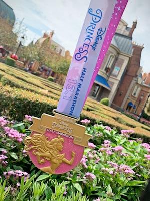 2019 Disney Princess Half Marathon Medal