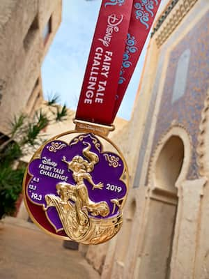 2019 Disney Fairy Tale Challenge Medal