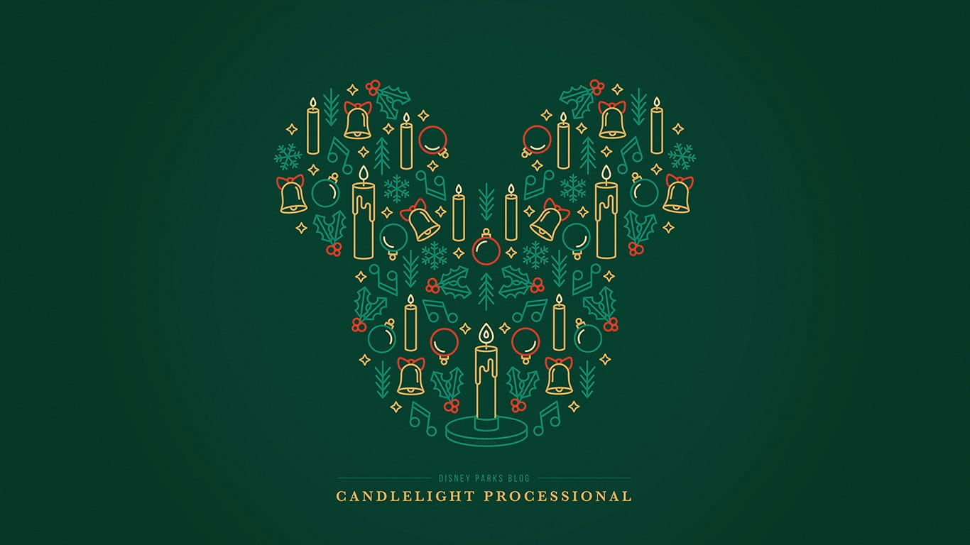 Disney Parks Blog 2018 'Candlelight Processional' Wallpaper