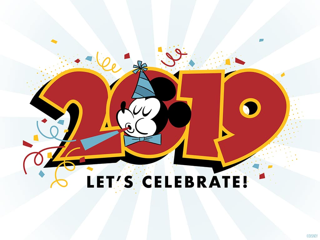 2019 happy new year mickey mouse wallpaper desktop ipad disney parks blog