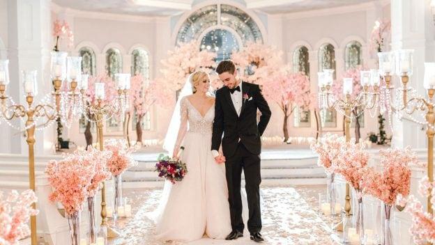 Disney's Fairy Tale Weddings: Holiday Magic - Courtney and Sam