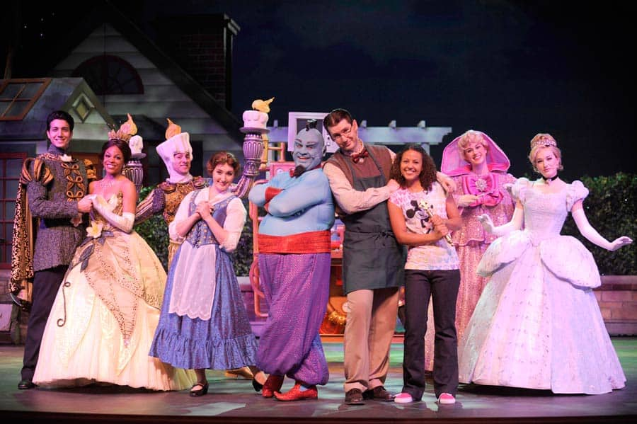 Performers in the Broadway-style shows onboard Disney Cruise Line