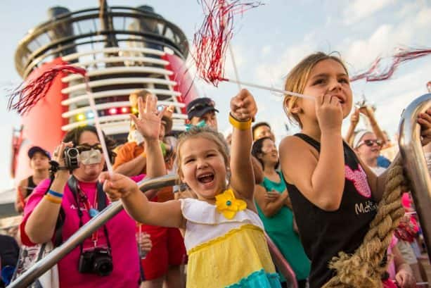Celebrating on Disney Cruise Line