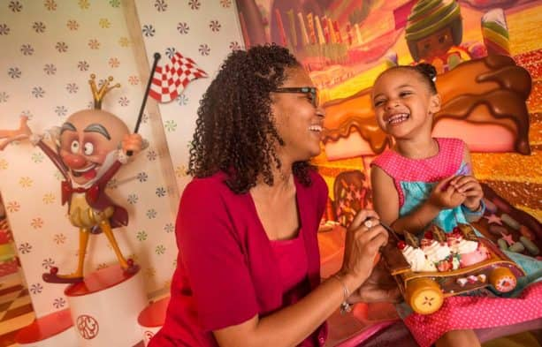 Vanellope's Sweet & Treats onboard the Disney Dream
