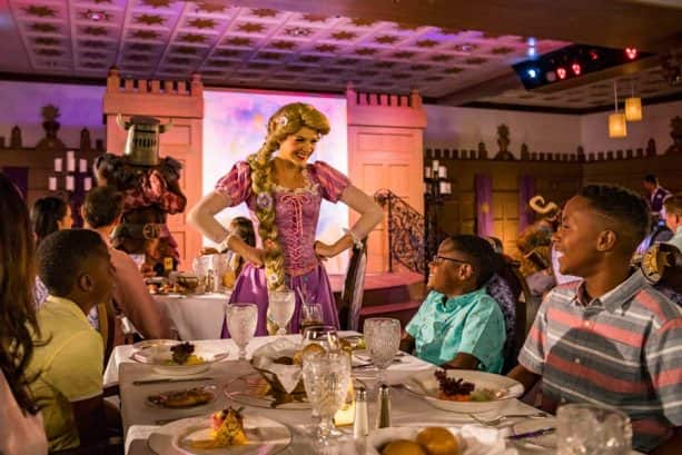 Rapunzel's Royal Table onboard the Disney Magic