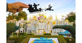 Disney Parks in Silhouette: Holidays at the Disneyland Resort