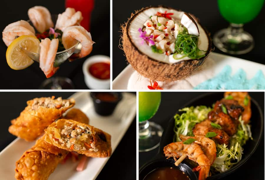 New Items at Tambu Lounge at Disney's Polynesian Village Resort