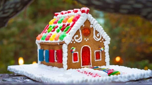 A Grand Gingerbread House Experience class at Disney's Grand Californian Hotel & Spa