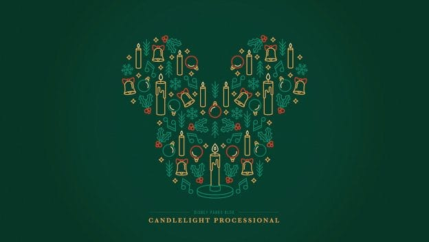 'Candlelight Processional'-Inspired Digital Wallpaper
