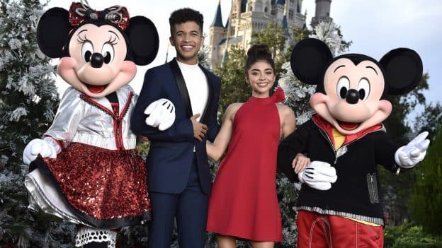 Jordan Fisher Disney Christmas Show 2020 Sneak a Peek at Celeb Fashion for ABC's 'Disney Parks Magical