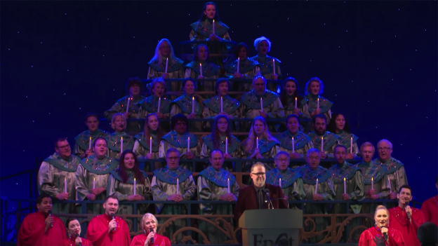 Singer, Songwriter Bart Millard Finds Christmas Joy At Epcot International Festival of the Holidays