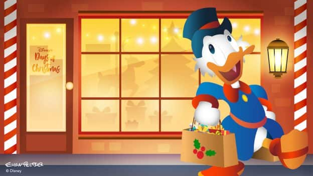 Scrooge Finds Cheer at Disney's Days of Christmas